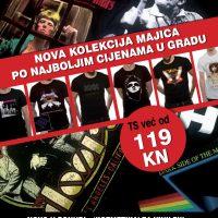 "DANCING BEAR SHOP ZAGREB – u ponudi nova kolekcija majica po najboljim cijenama u gradu + ""kozmetika"" za vinile!"