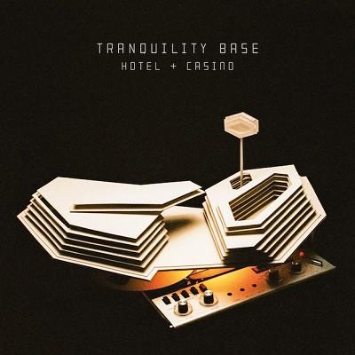 ARCTIC MONKEYS – TRANQUILITY BASE HOTEL + CASINO deluxe clear vinyl…LP