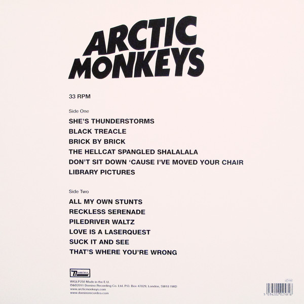 ARCTIC MONKEYS – SUCK IT AND SEE…LP