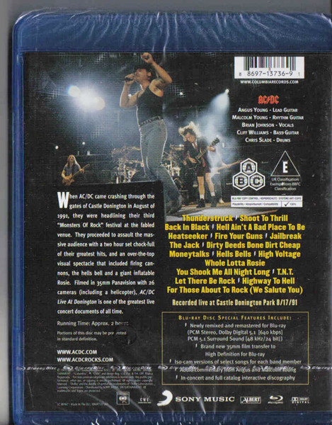AC/DC – LIVE IN DONINGTON…BRD