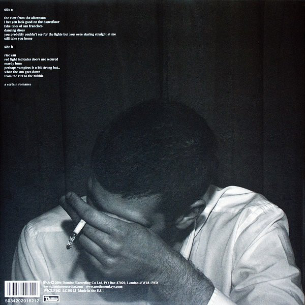 ARCTIC MONKEYS – WHATEVER PEOPLE SAY I AM…LP