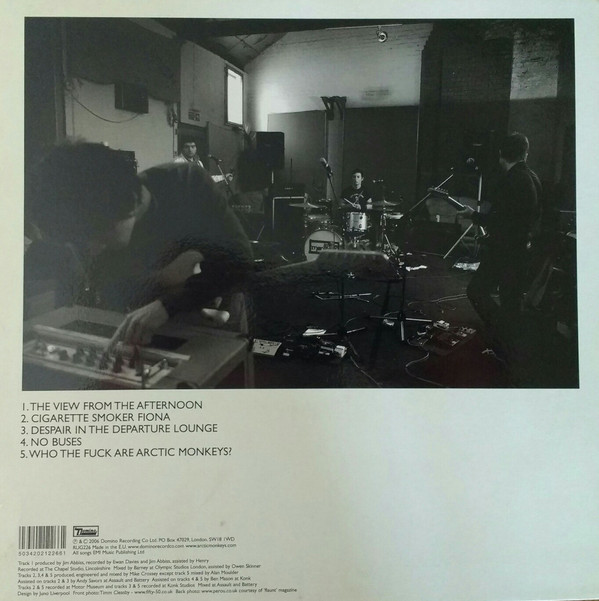ARCTIC MONKEYS – WHO THE FUCK ARE ARCTIC M..?LP