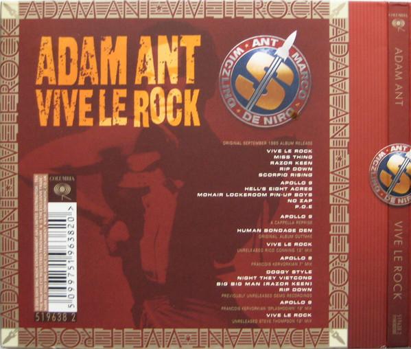 ADAM ANT – VIVE LE ROCK