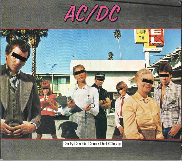 AC/DC – DIRTY DEEDS DONE DIRT CHEAP…RM