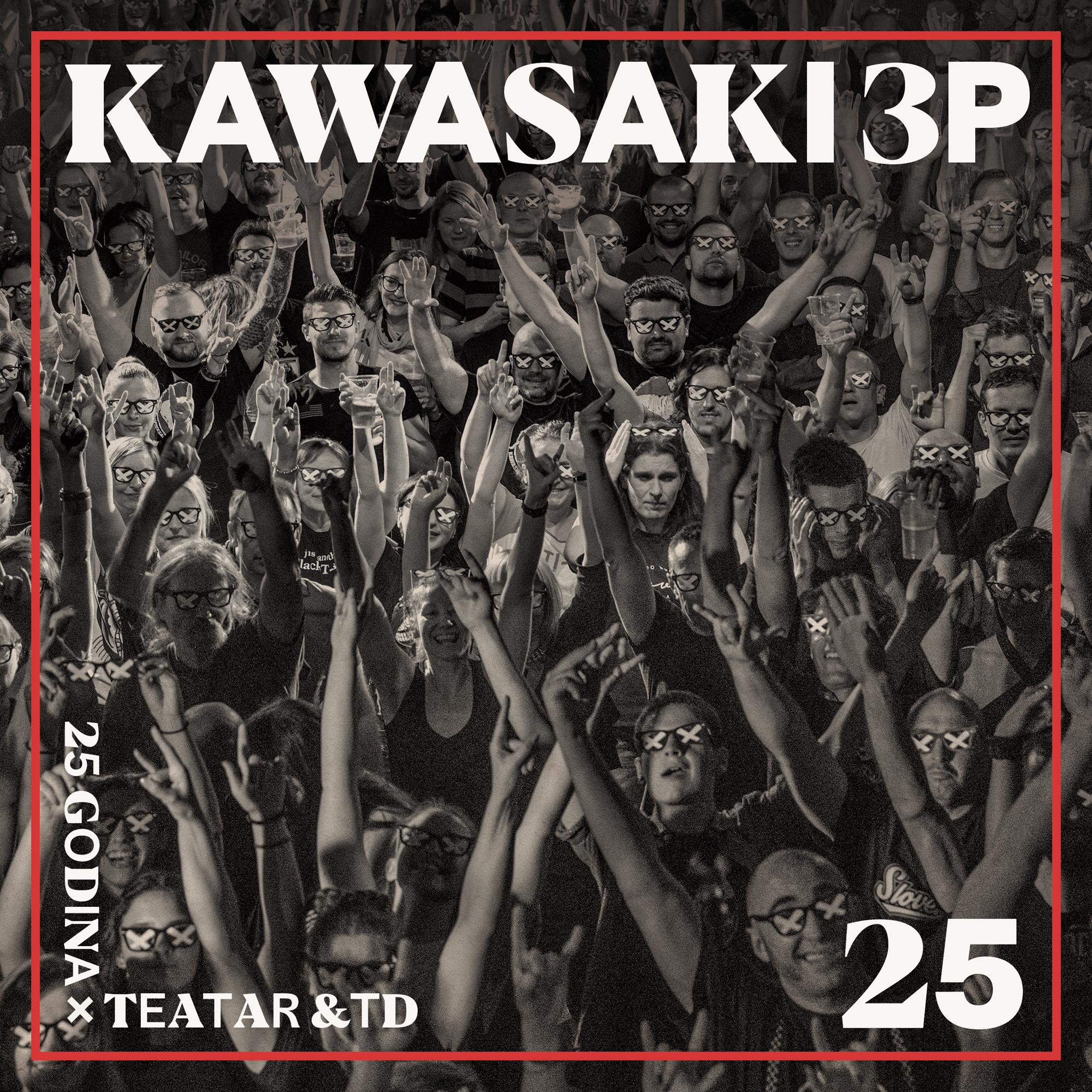 Kawasaki 3p spreman za prvi live DVD i CD!