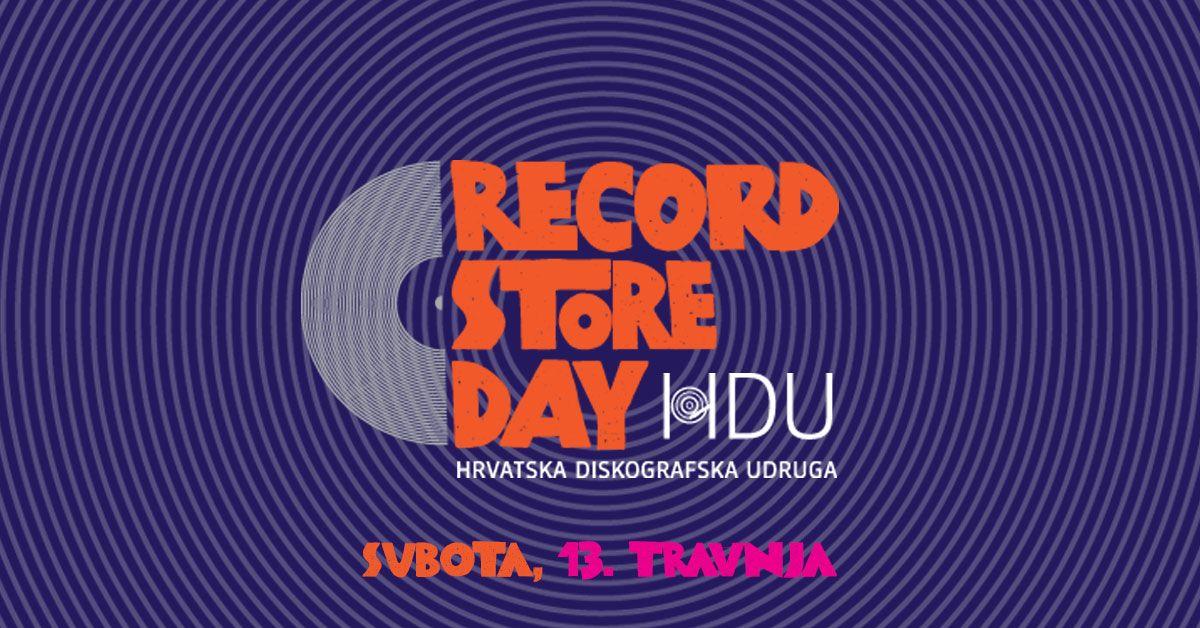 Record Store Day u Dancing Bear shopu, subota 13. travnja