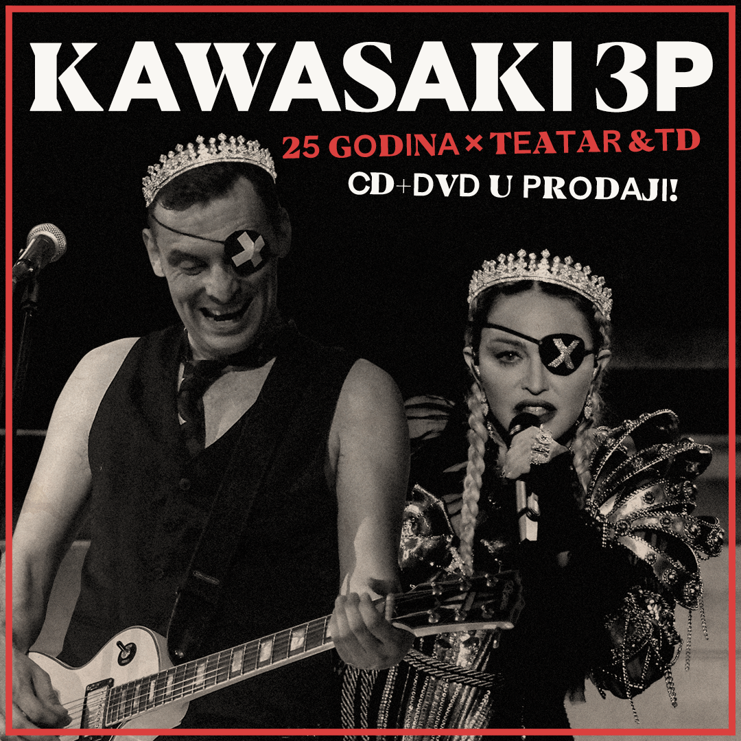 Jedan korak uvijek ispred! Kawasaki 3p suradnja s Madonnom – ni da ni ne