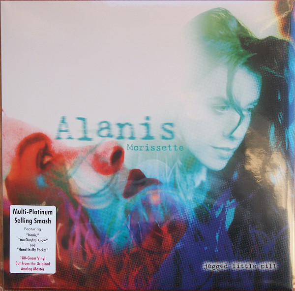 MORISSETTE ALANIS – JAGGED LITTLE PILL…LP