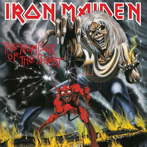 IRON MAIDEN – NUMBER OF THE BEAST RM digi…CD