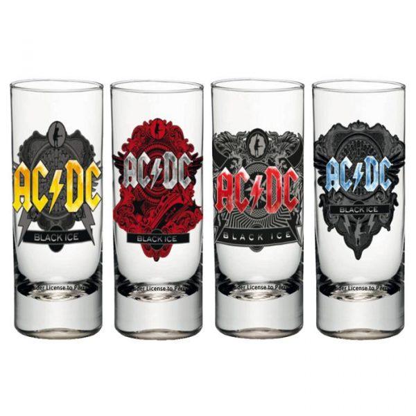 AC/DC SHOT GLASSES ČAŠICE