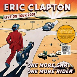 CLAPTON ERIC - ONE MORE CAR...clear (rsd2019) LP3