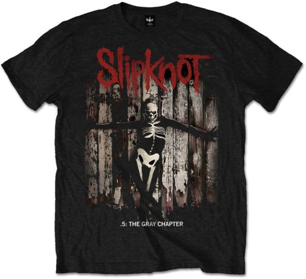 SLIPKNOT - GRAY CHAPTER ALBUM COVER....TS-M