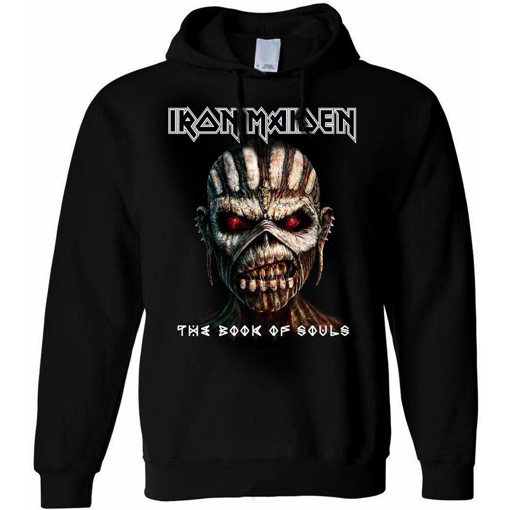 IRON MAIDEN - BOOK OF SOULS...HOODIE-M
