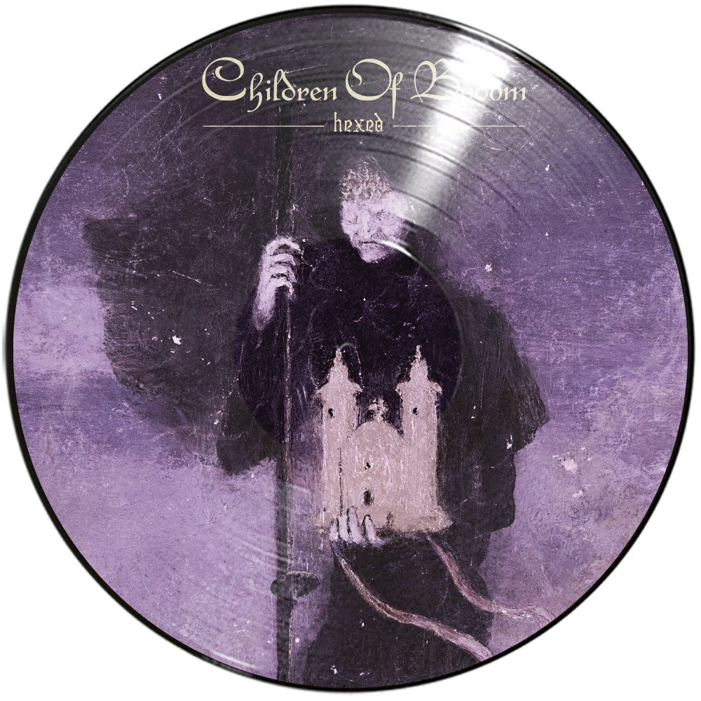 CHILDREN OF BODOM - HEXED picture disc...LP