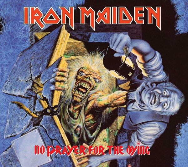 IRON MAIDEN - NO PRAYER FOR THE DYING (rem.2019) CD