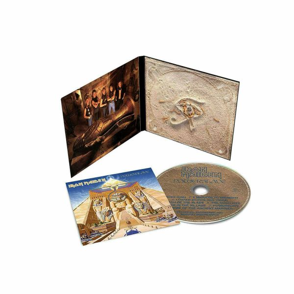 IRON MAIDEN - POWERSLAVE (rem.2019) CD