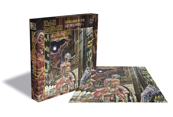 IRON MAIDEN - SOMEWHERE IN TIME PUZZLE 500 PIECE
