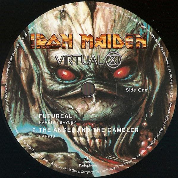IRON MAIDEN - VIRTUAL XI...LP2