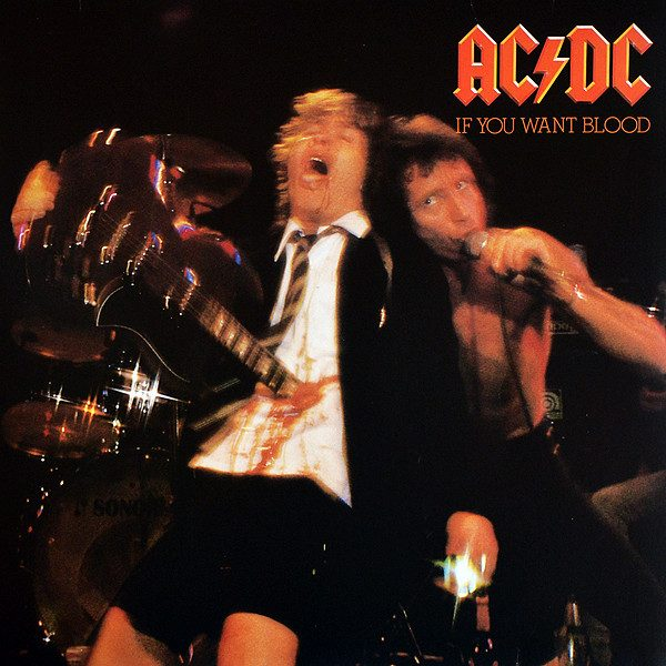AC/DC - IF YOU WANT BLOOD...LP