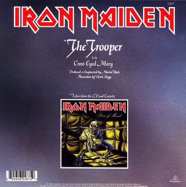 IRON MAIDEN - TROOPER...SP
