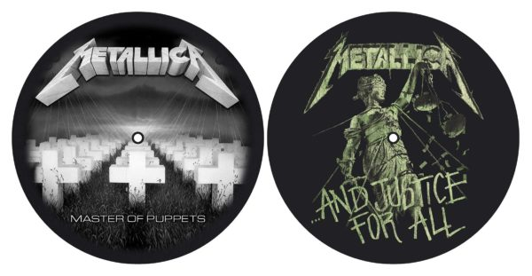 MERC - SLIPMAT:METALLICA-MASTER OF PUPPETS/ AND JUSTICE FOR ALL