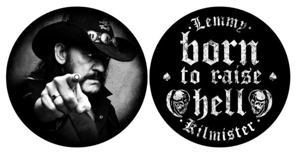 MERC - SLIPMAT:LEMMY-BORN TO RAISE HELL