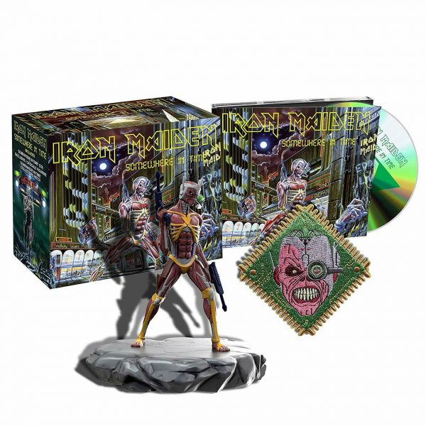 IRON MAIDEN – SOMEWHERE IN TIME RM deluxe…CDBOX