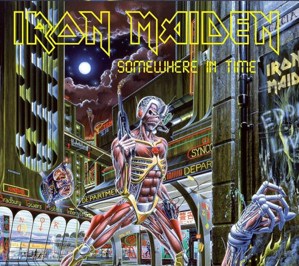 IRON MAIDEN - SOMWHERE IN TIME (Collector's Edition With Eddie Figure) (2019) CD
