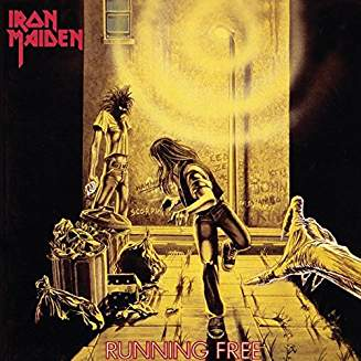 IRON MAIDEN - RUNNING FREE...LPS