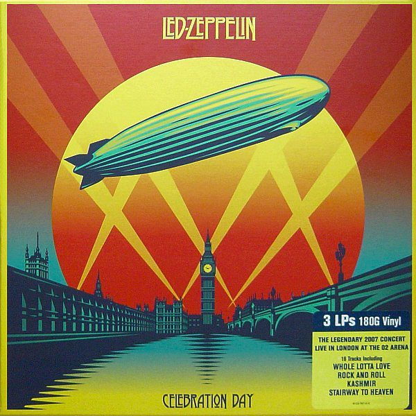 LED ZEPPELIN - CELEBRATION DAY...LP3