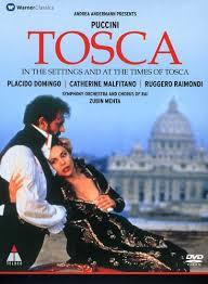 PUCCINI/DOMINGO - TOSCA...DVD