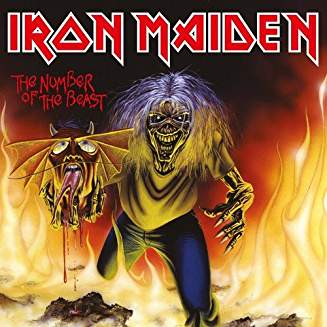 IRON MAIDEN - NUMBER OF THE BEAST...LPS