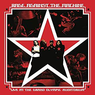 RAGE AGAINST THE MACHINE - LIVE AT THE GRAND OLIM...LP2