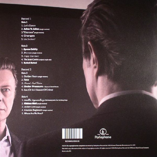 BOWIE DAVID - NOTHING HAS CHANGED (VERY BEST OF)...LP2
