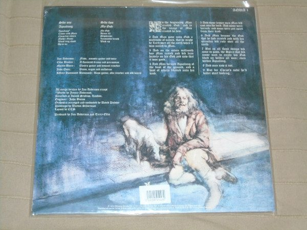 JETHRO TULL - AQUALUNG...LTD ED.GREEN VINYL