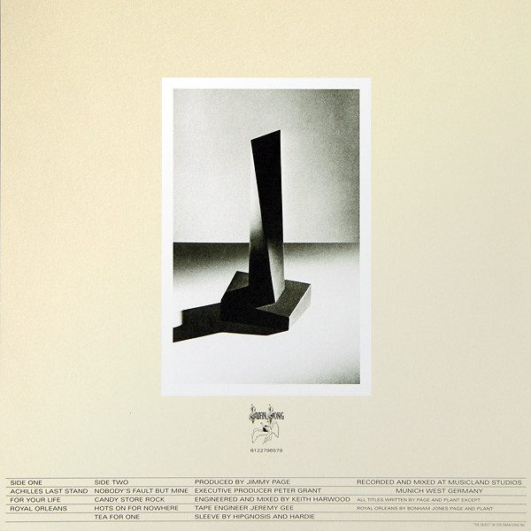 LED ZEPPELIN - PRESENCE LP (remaster 2015)