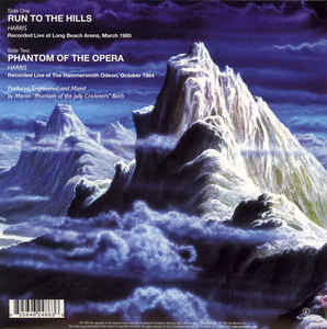 IRON MAIDEN - RUN TO THE HILLS LIVE...SP