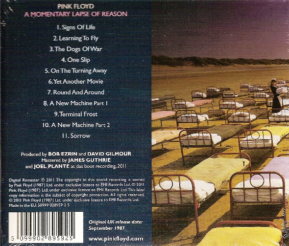 PINK FLOYD - MOMENTARY LAPSE OF REASON...RM