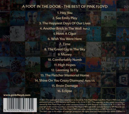 PINK FLOYD - FOOT IN THE DOOR: BEST OF