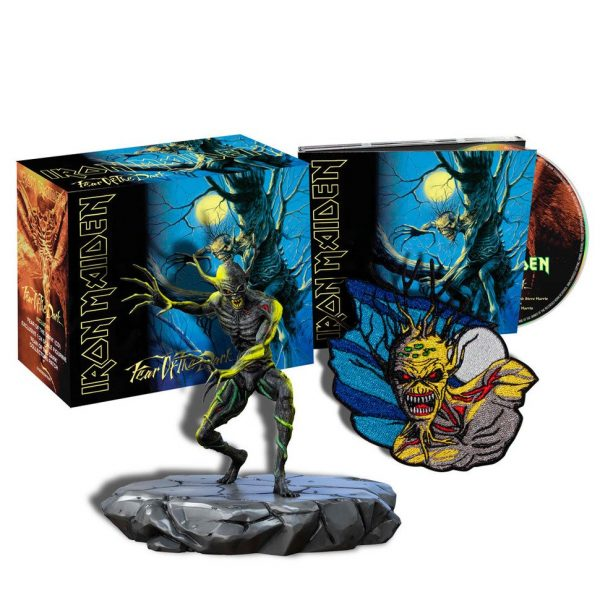 IRON MAIDEN – FEAR OF THE DARK +figurica…CD BOX