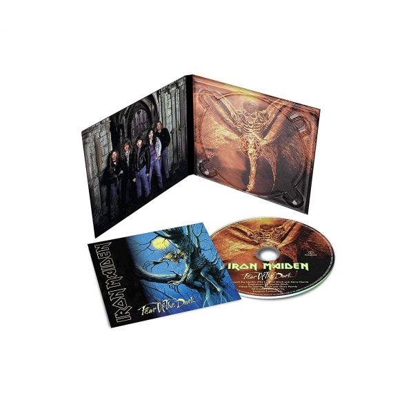 IRON MAIDEN – FEAR OF THE DARK RM digi..CD