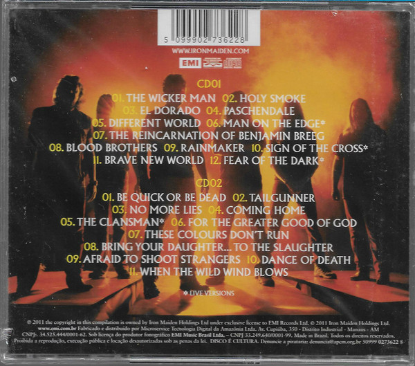 IRON MAIDEN – FROM FEAR TO ETERNITY: BEST OF 1990-2010 CD2
