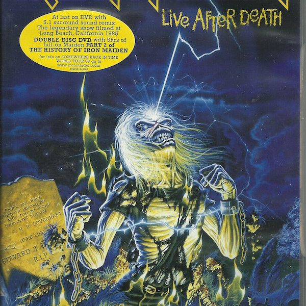 IRON MAIDEN – LIFE AFTER DEATH…DVD