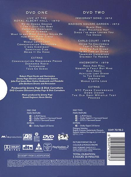 LED ZEPPELIN – LIVE 70-79…DVD2