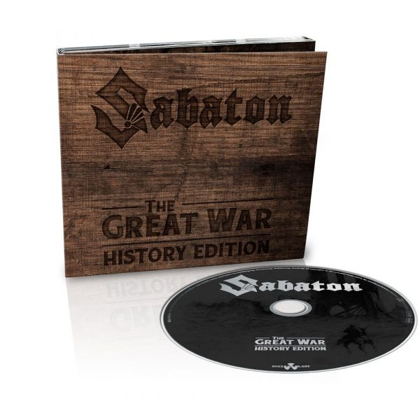 SABATON – GREAT WAR ltd digi…CD