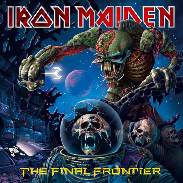 IRON MAIDEN – FINAL FRONTIER digi  CD