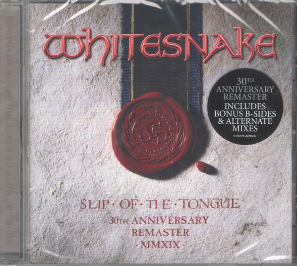 WHITESNAKE – SLIP OF THE TONGUE 30th anniversary  CD