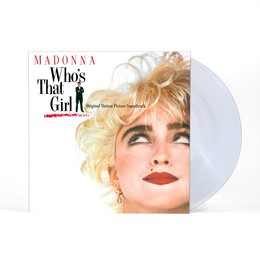 MADONNA – WHO'S THAT GIRL crystal clear vinyl LP