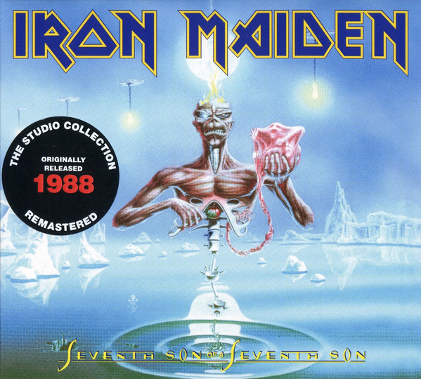 IRON MAIDEN – SEVENTH SON OF A SEVENTH SON RM digi…CD