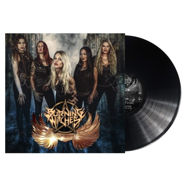 BURNING WITCHES – WINGS OF STEEL LP-EP